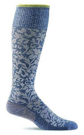 Sockwell Damasco de la Mujer Calcetines, Mujer, Color Tela Vaquera, tamaño M/L: Amazon.es: Deportes y aire libre