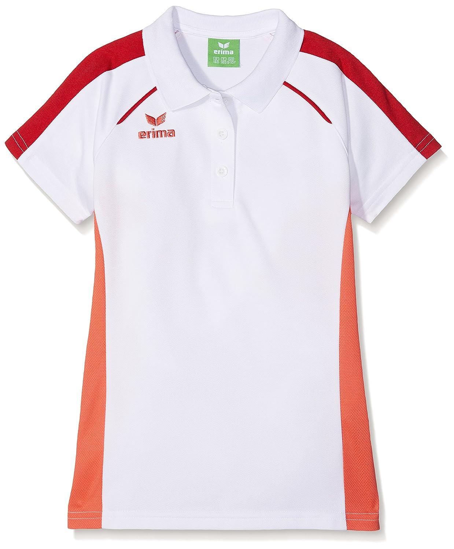 erima Niña Masters Blanco de Polo Camiseta