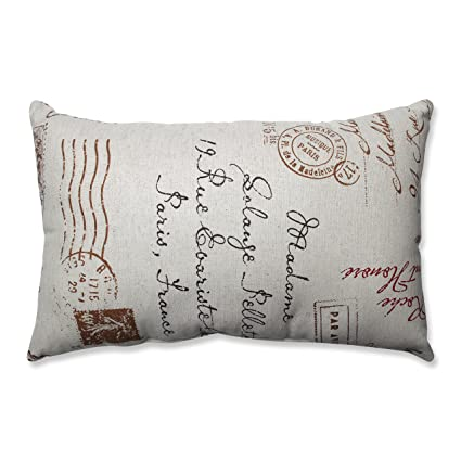 Amazon Pillow Perfect LinenRed French Postale Rectangular Delectable Decorative Pillow Manufacturers