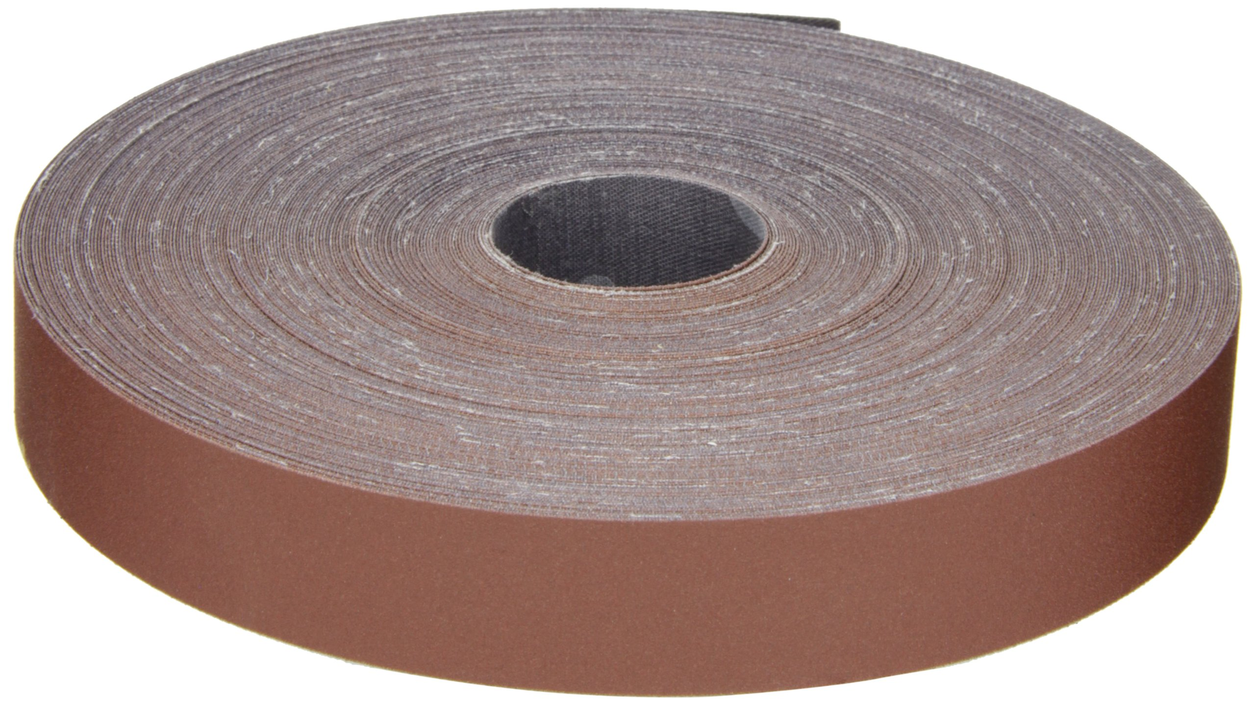 3M Utility Cloth Roll 314D, Aluminum Oxide, 1'' Width x 50 yds Length, P240 Grit, Maroon (Pack of 1)