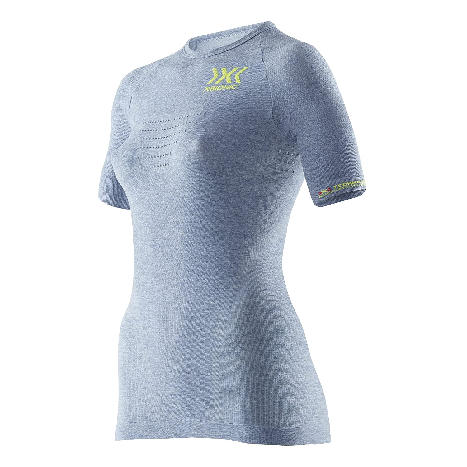 e3575c9061d12 X-Bionic Women's Running Speed Evo Melange Ow Shirt Sh_sl. Top