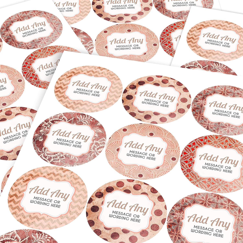 Teachers Graphic Flavour Cocoa Personalised Custom Sticker Labels 6 Stickers @ 9.5cm Parents Children