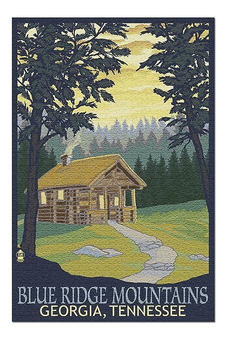 Amazon Com Blue Ridge Mountains Georgia Cabin In Woods