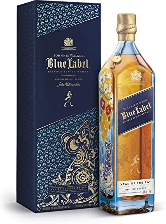 Johnnie Walker - Blue Label 2020 Chinese New Year - Year Of The Rat - Whisky