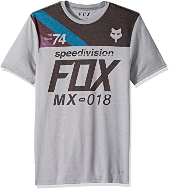Camiseta Fox Accordingly Gris Dark Gris (L , Gris)