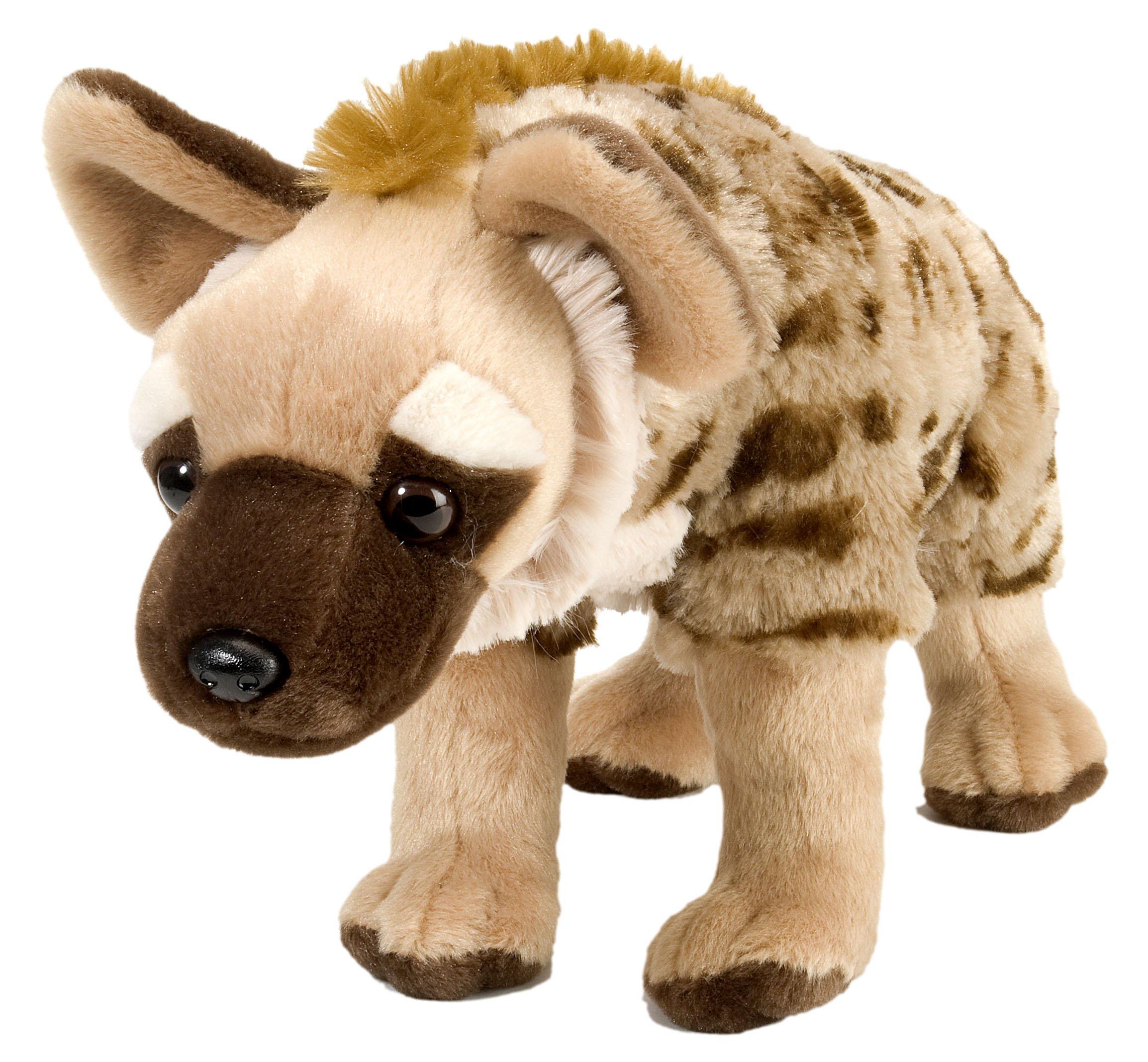 "Wild Republic Hyena Stuffed Animal, Plush Toy, Gifts for Kids, Cuddlekins 12"", Multicolor (12240)"
