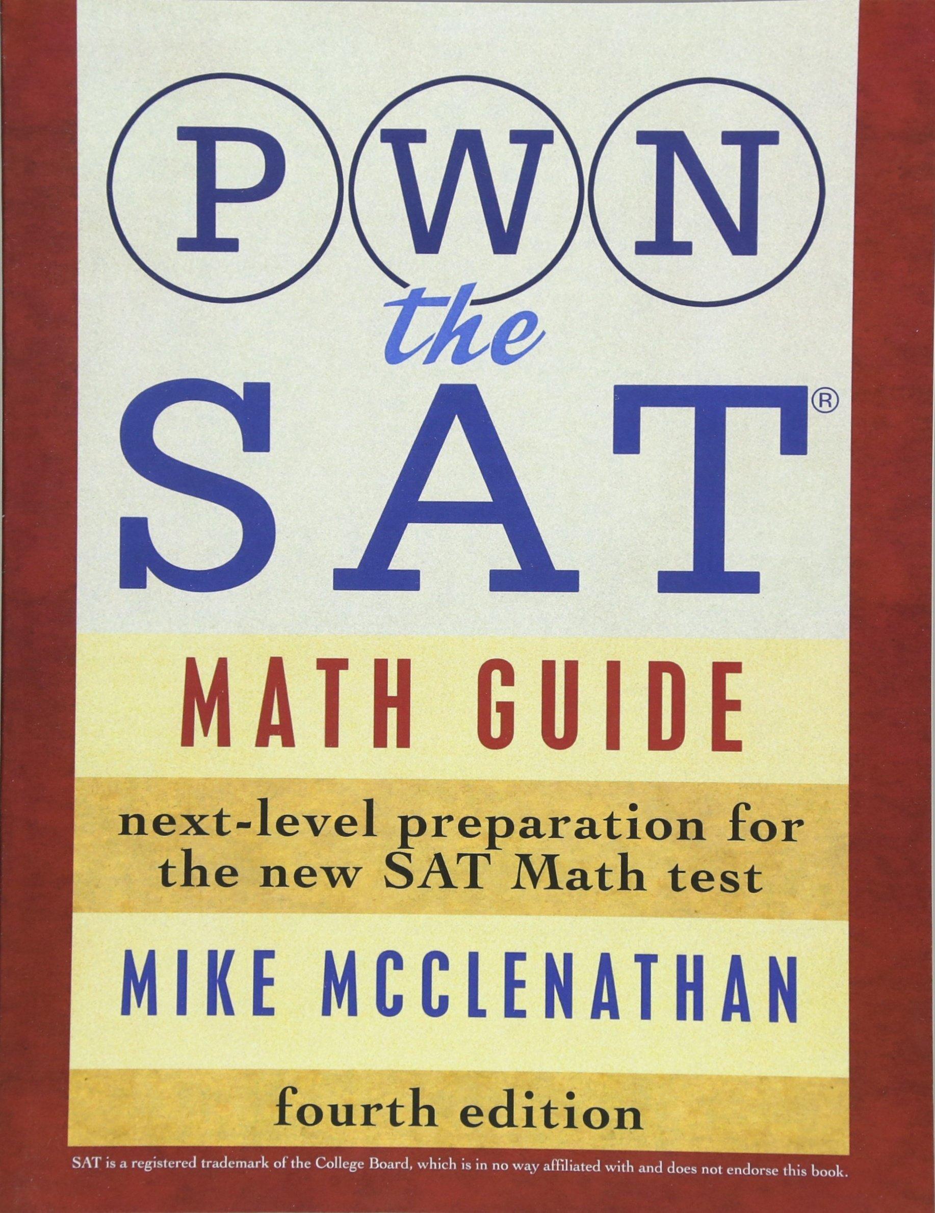 Kết quả hình ảnh cho PWN the SAT: Math Guide