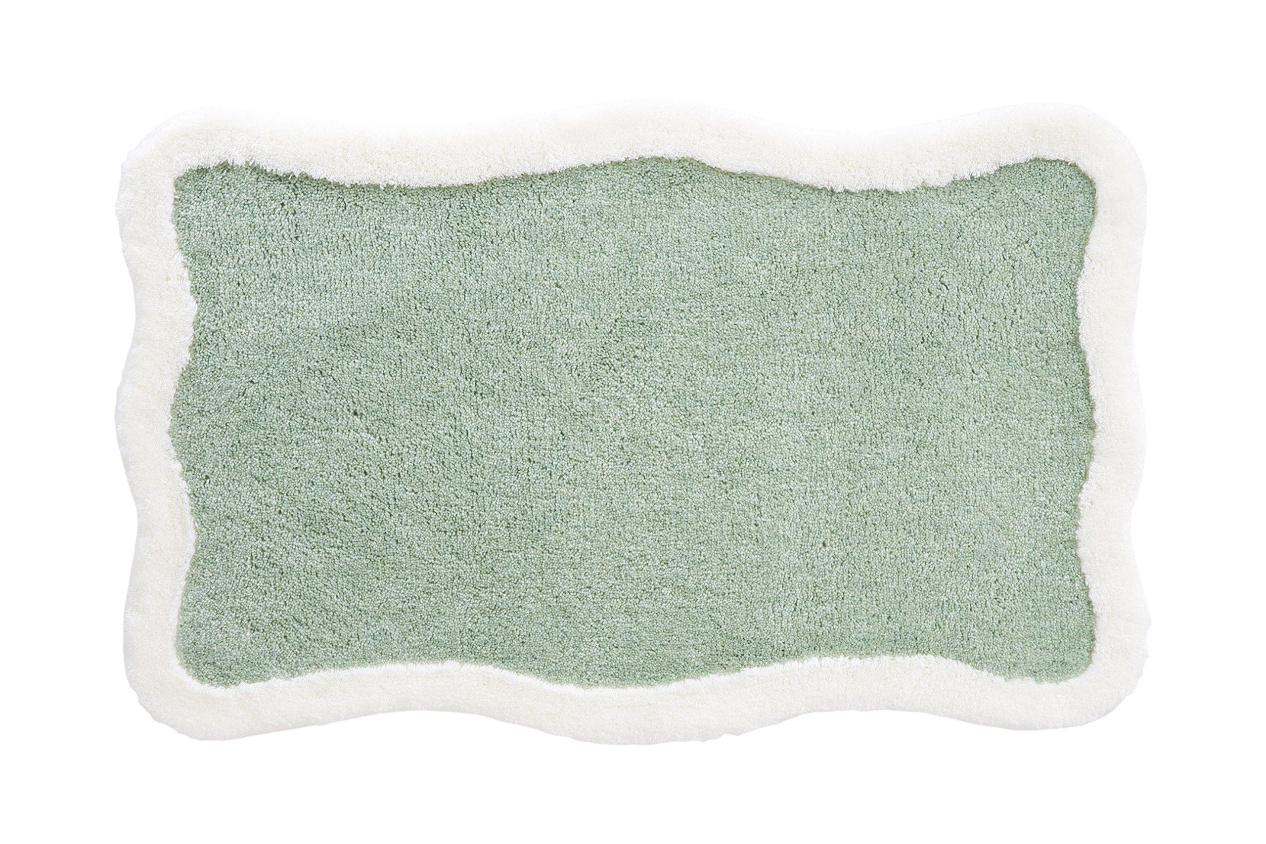 Grund Designer Series Accent/Bath Rug,Tutti, 21-Inch by 34-Inch, Green