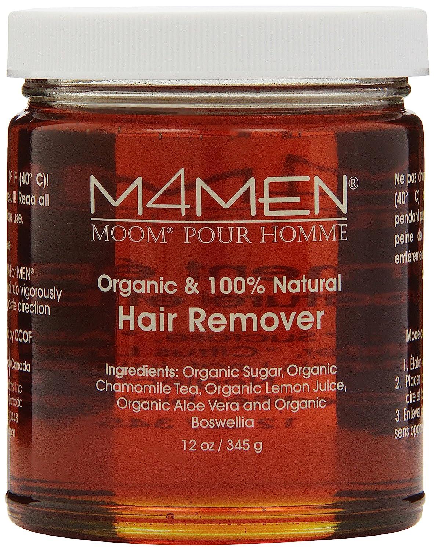 Moom Hair Removal System for Men - Refill 12 oz Jar