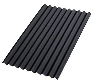 Gut bekannt Bitumenwellplatten Set schwarz Compact: 8 Stück je 1000 x 750 mm AP35