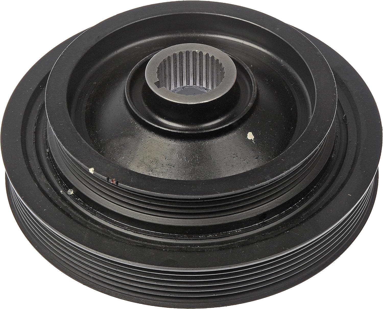 Dorman 594-300 Engine Harmonic Balancer for Select Acura / Honda Models, Black