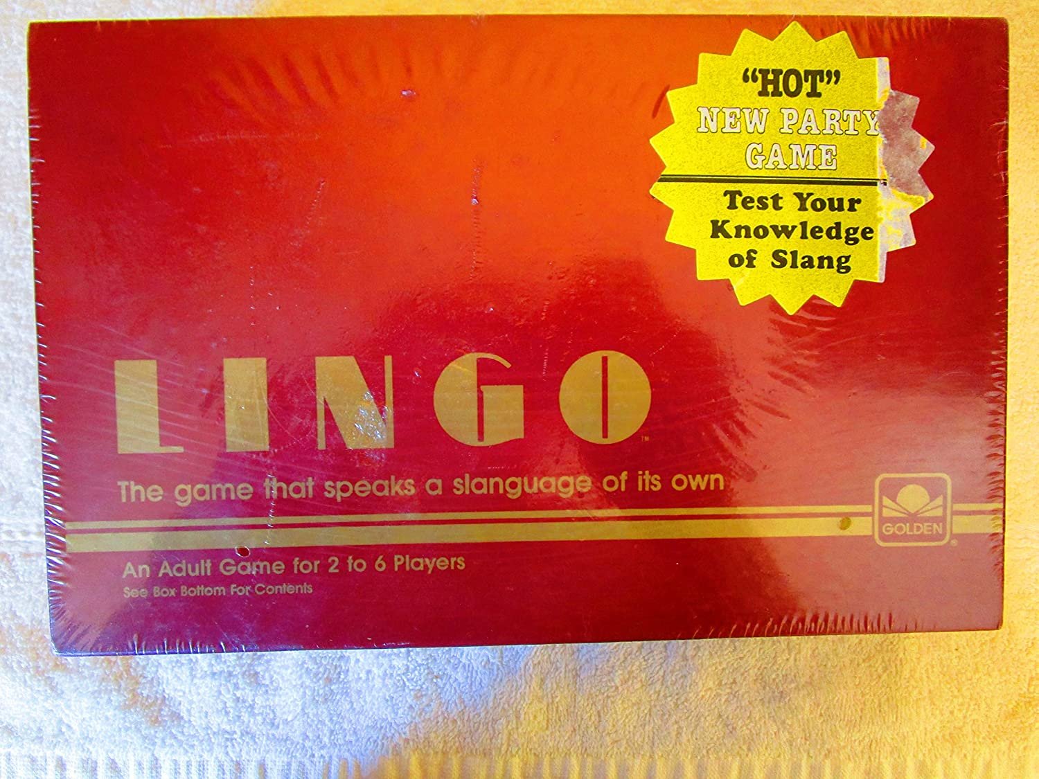 Lingo - Word Party Game from 1985 by Western Publishing Company ...