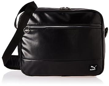 0b296d84c3 Puma Originals Reporter Bag, Black, 40.5x16.5x30 cm: Amazon.co.uk ...