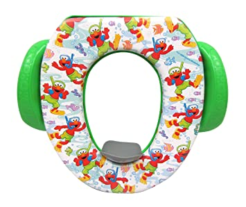 15bb0a669b0 Image Unavailable. Image not available for. Color  Sesame Street  quot Scuba  Elmo quot  Soft Potty Seat ...