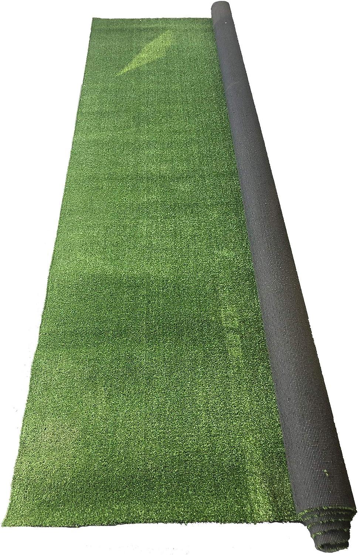 Rasenteppich Kunstrasen Basic grün 400x270 cm