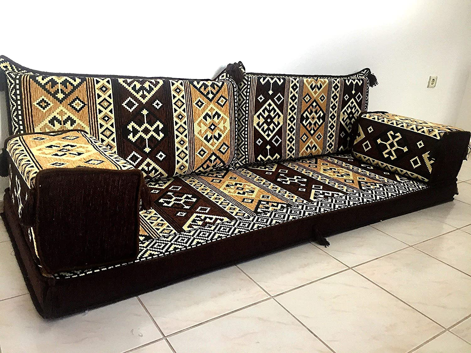 furniture,oriental seating,arabic sofa,sofa set,floor couch,floor  cushions,arabic jalsa,majlis,bar decor - MA 9