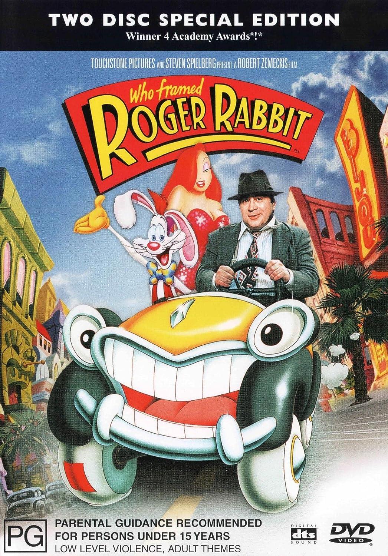 Amazon Com Who Framed Roger Rabbit Special Edition 2 Disc Set Dts Joanna Cassidy Bob Hoskins Christopher Lloyd Robert Zemeckis Movies Tv