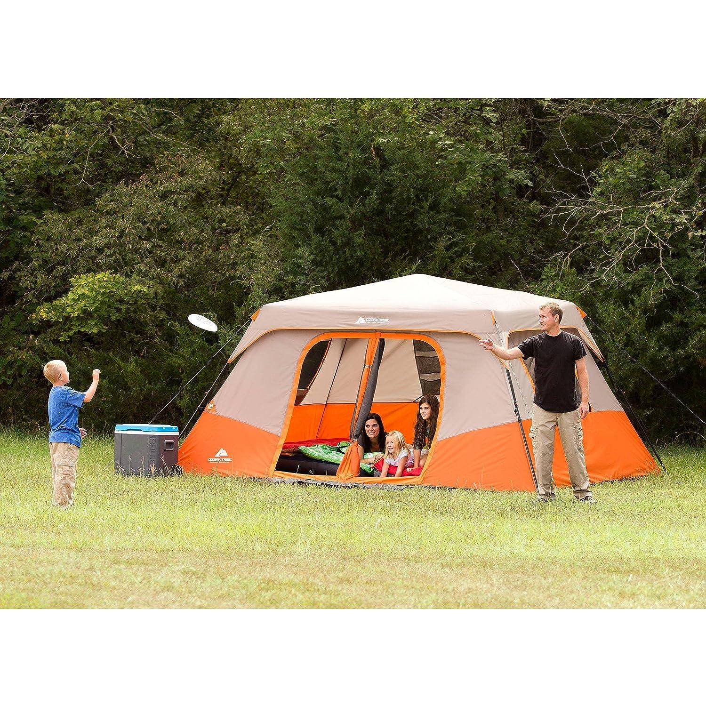 8 person instant cabin tent