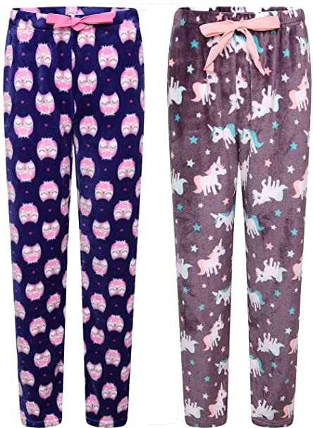 Pack 2 Insignia Pijama Mujer De Casa Pantalones Cuadros Mujer Pantalones