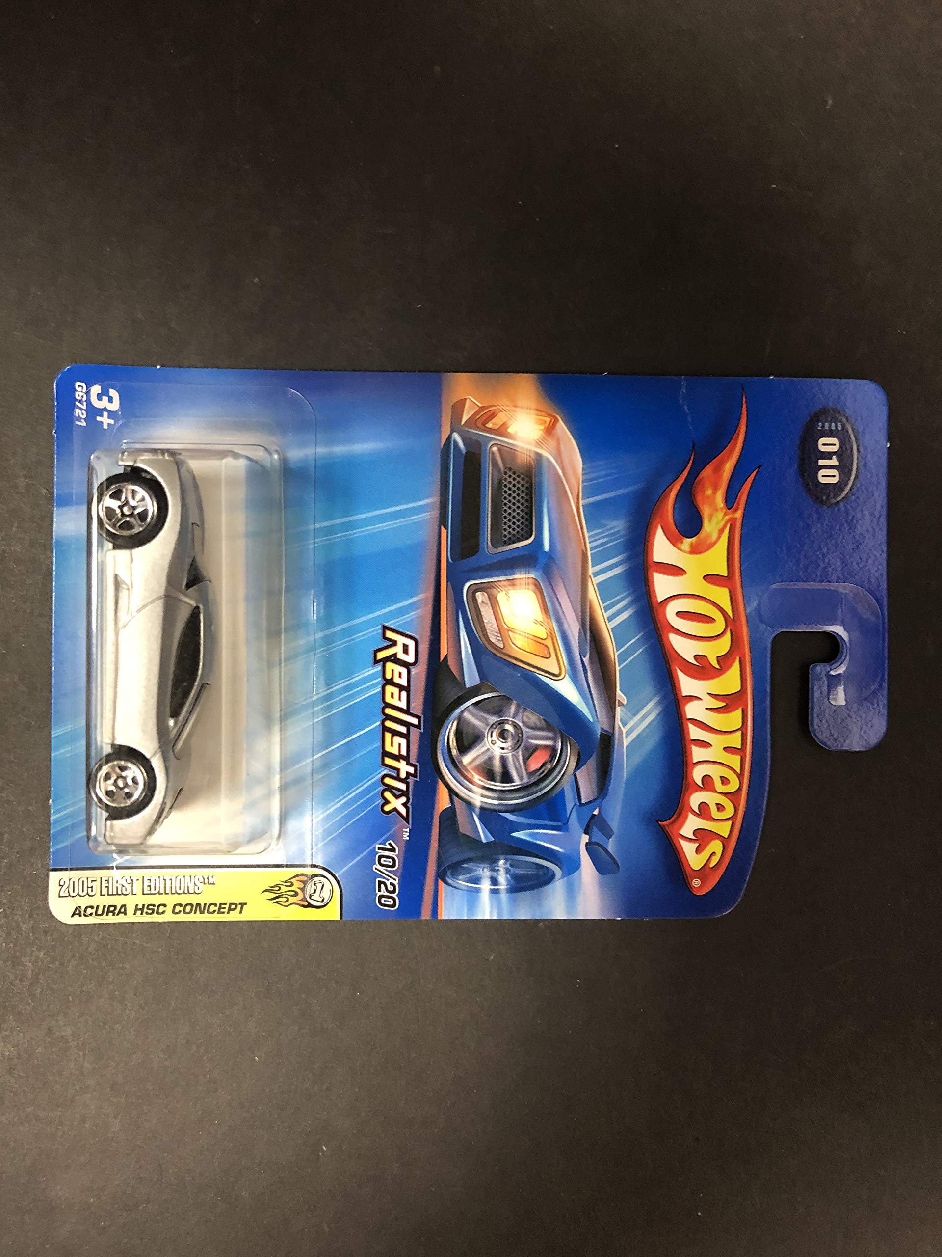 Acura HSC Concept 2005 First Editions Hot Wheels diecast car No. 010