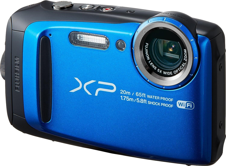 FUJIFILM デジタルカメラ XP120 ブルー FX-XP120BL