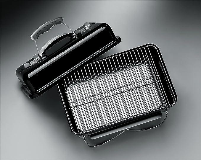 Weber Holzkohlegrill Eckig : Weber go anywhere kohle grill amazon garten
