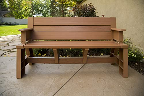 Premiere Products 5RCATST Sierra Timber Convert a Bench