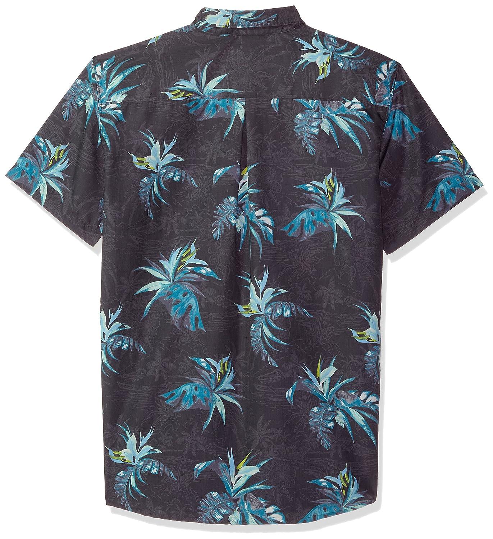 ONEILL Mens Casual Standard Fit Short Sleeve Woven Button Down Shirt