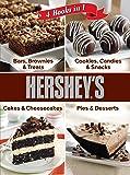 Hershey 4 Cookbooks in 1: Bars, Brownies & Treats; Cookies, Candies & Snacks; Cakes & Cheesecakes; Pies & Desserts