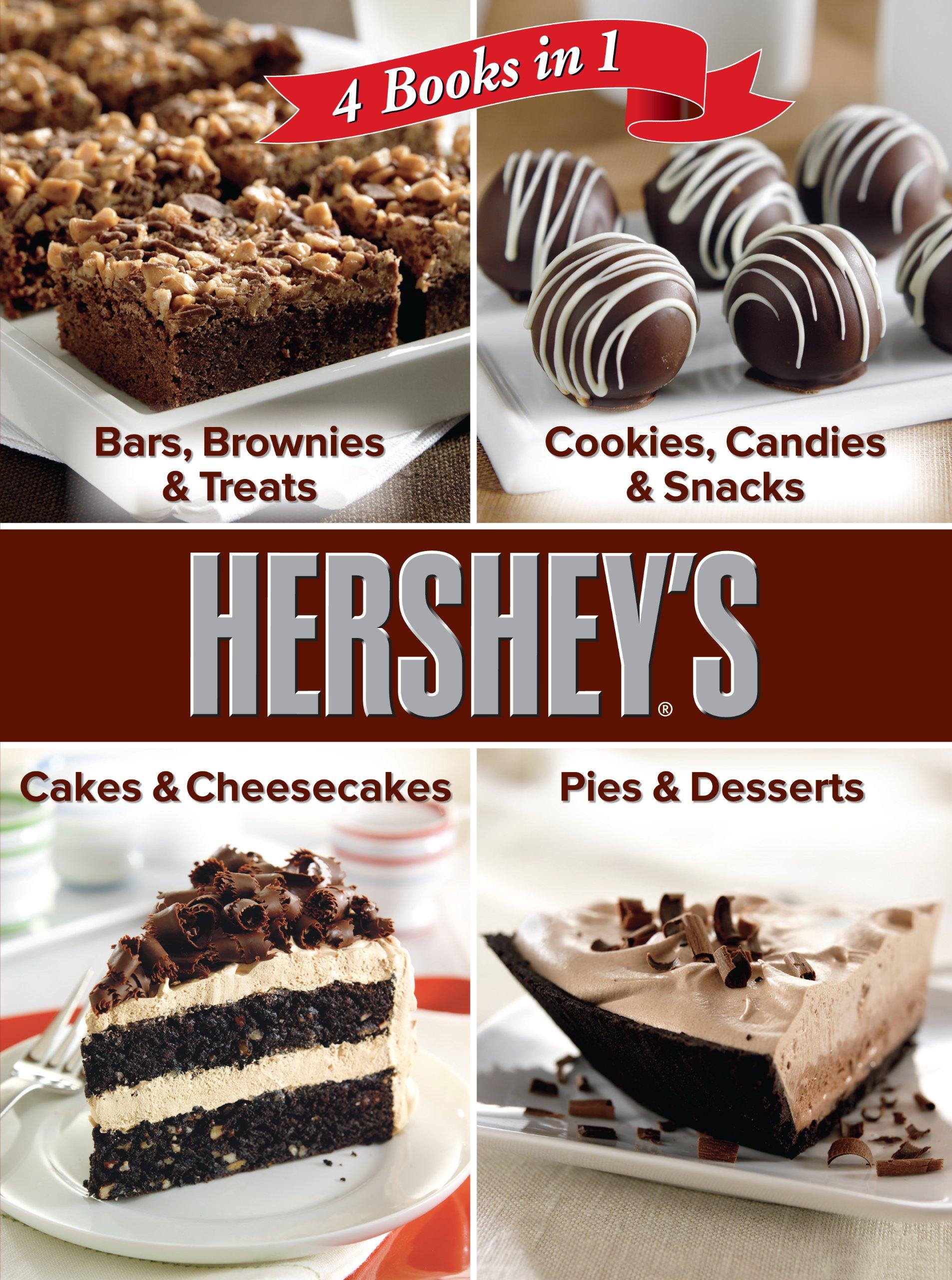 Hershey 4 Cookbooks in 1: Bars, Brownies & Treats; Cookies ...