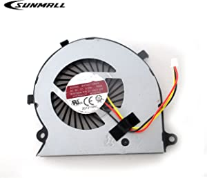 SUNMALL CPU Cooling Fan Replacement for Toshiba Satellite Radius P55W-B P55W-B5112 P55W-B5162SM P55W-B5181SM P55W-B5201SL P55W-B5220 P55W-B5224 P55W-B5260SM P55W-B5318 P55W-B5380SM Series