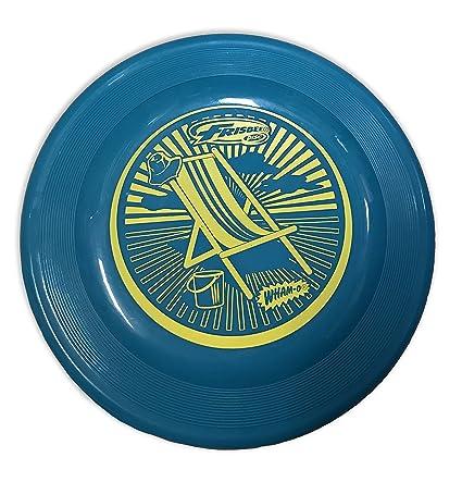 amazon com wham o beach flyer frisbee 100g sports outdoors
