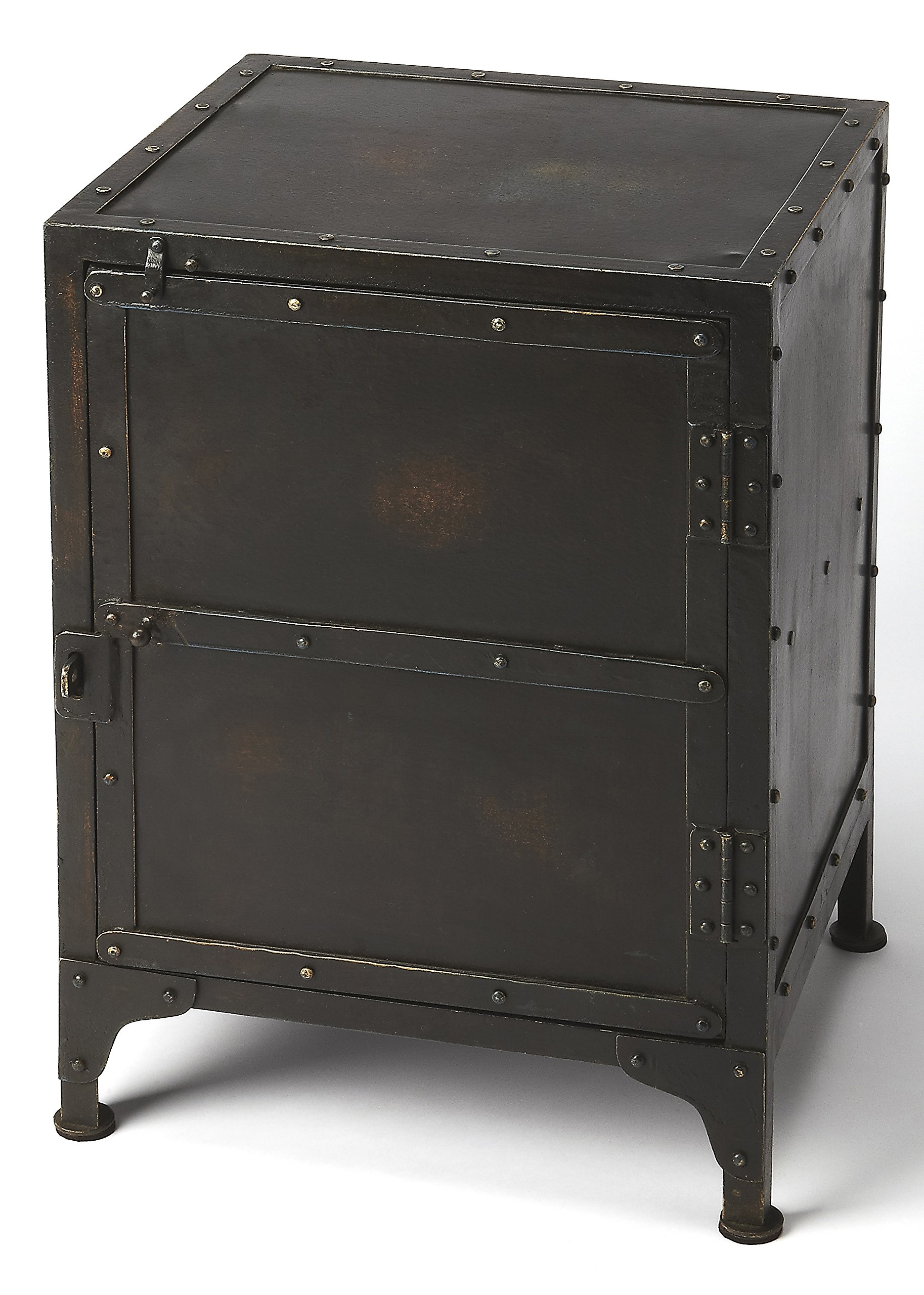 Owen Side Chest in Industrial Finish 738018
