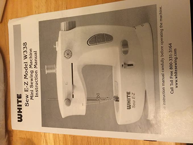 Amazon White Sew EZ Mini Portable Sewing Machine Cool Dressmaker Mini Sewing Machine Instructions
