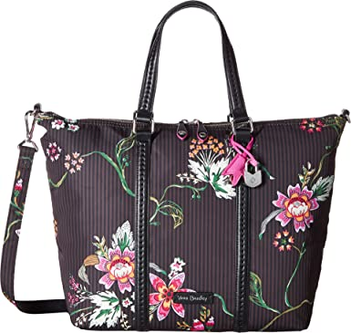 2b414c2f58 Amazon.com  Vera Bradley Women s Midtown Small Tote Airy Floral One ...