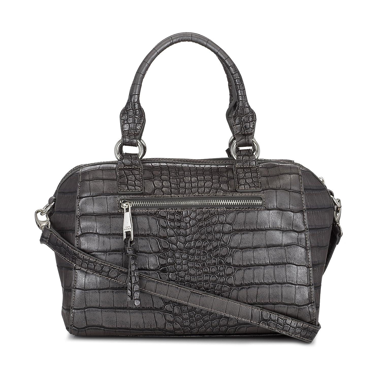 4b3d29a8325 Sonnet   Rose Slate Womens Vegan Handbag Charcoal Studded Purse  Handbags   Amazon.com