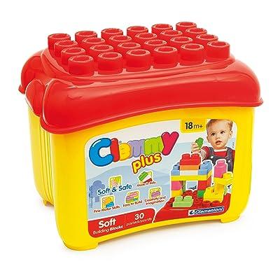 Clemmy Plus - Cubo con 30 bloques (Clementoni 14882): Juguetes y juegos