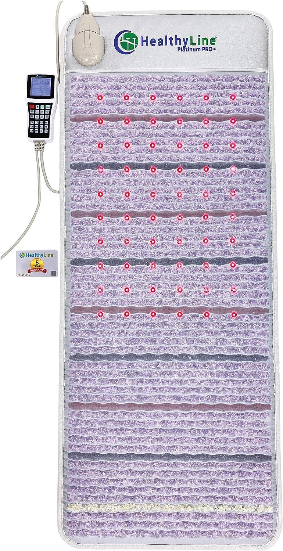 HealthyLine Platinum Mat - Revolutionary Amethyst Far Infrared Heating Pad (60