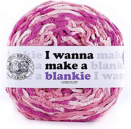 Calluna Lion Brand Yarn Wanna Make a Blankie Yarn