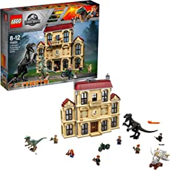 LEGO 75930 Jurassic World - Caos del Indorraptor en la Mansión Lockwood
