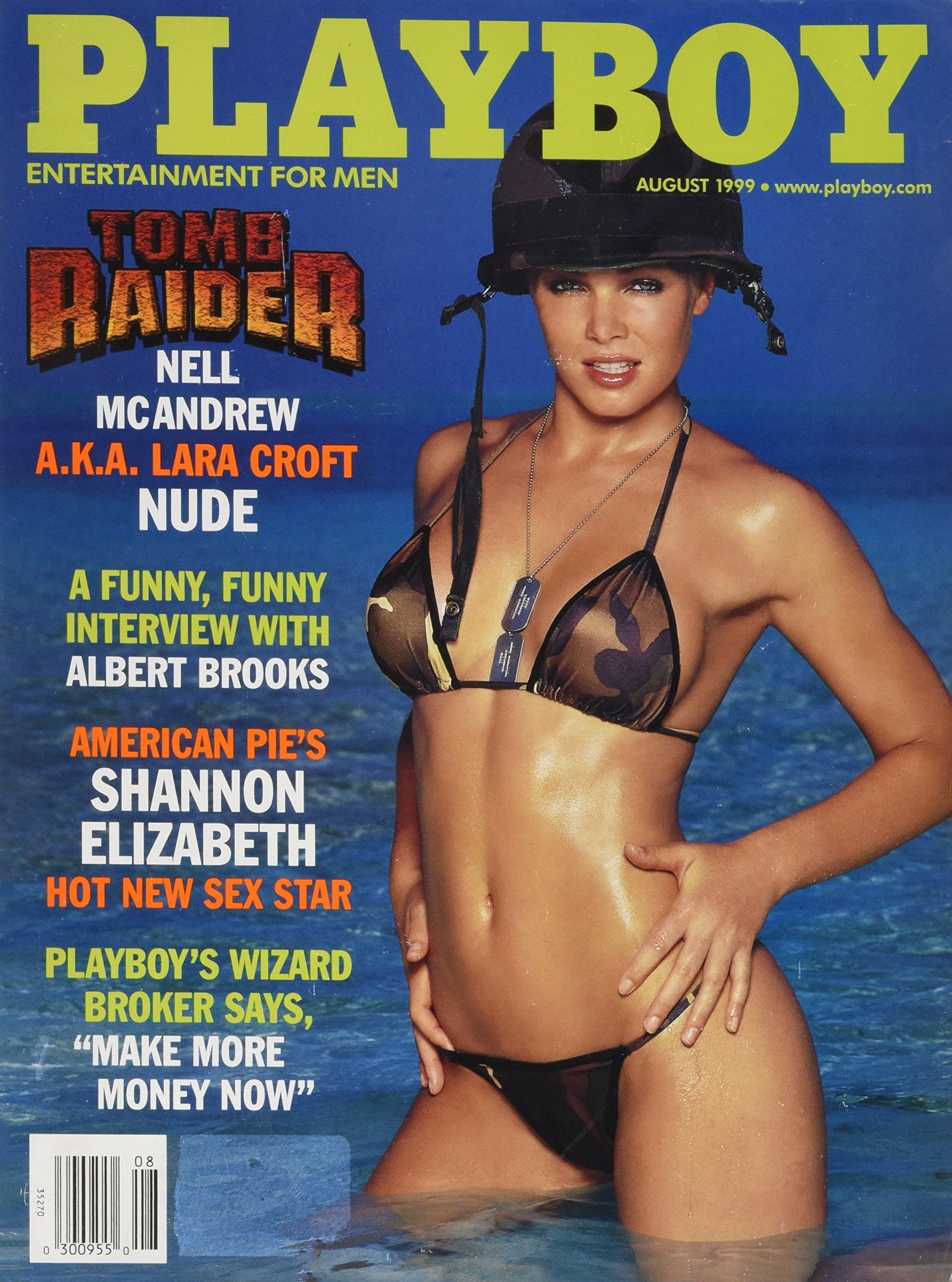 1999 Shannon Elizabeth Playboy magazine Amazon Books