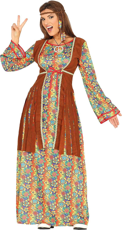 Guirca 88289 - Hippie Adulta Talla M 38-40: Amazon.es: Juguetes y ...