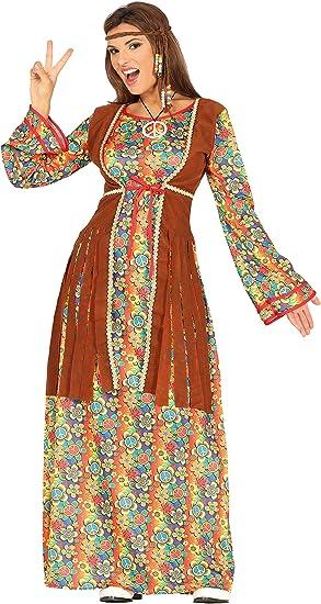 Guirca- Disfraz adulta hippie, Talla 42-44 (88290.0): Amazon.es ...