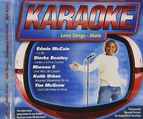 Karaoke love songs male