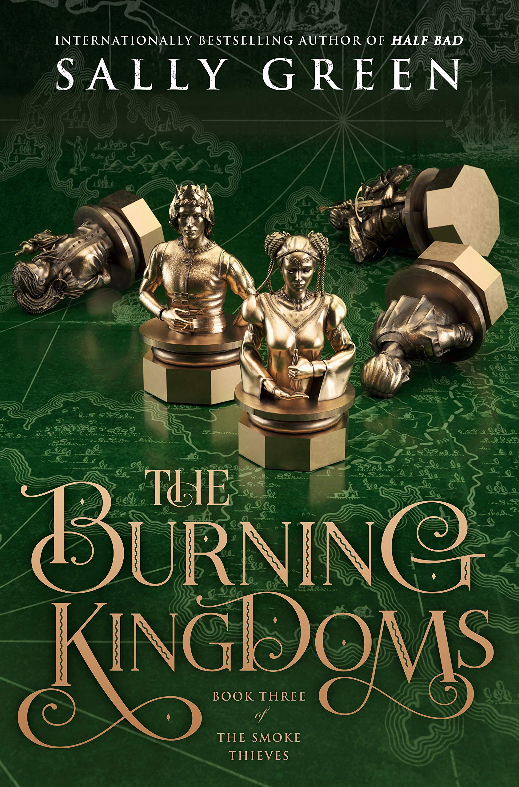Amazon.com: The Burning Kingdoms (The Smoke Thieves ...
