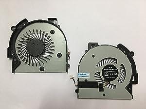 HK-part Replacement Fan for HP Envy X360 M6-AQ M6-AQ103DX M6-AQ005DX M6-AQ25DX M6-AQ003DX Cpu Cooling Fan P/N 856277-001 4-Pin