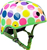 Micro Safety Helmet: Neon Dot (Small 48-52cm)