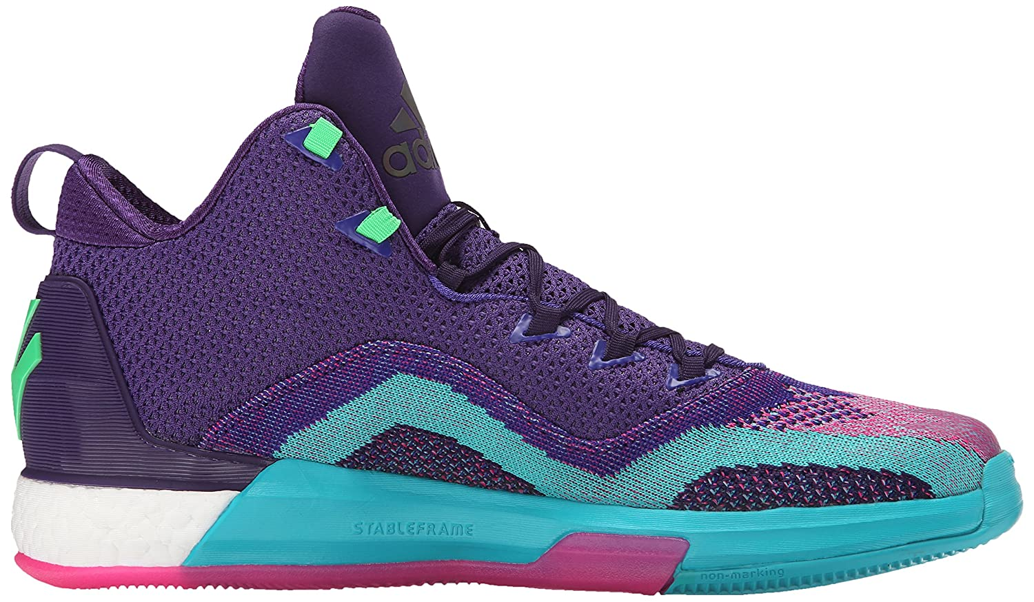 release date: a30b5 421bf Amazon.com   adidas Men s J Wall 2 Boost Primeknit-M   Basketball