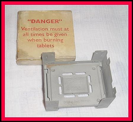 BW Esbit – Hervidor geb. Incluye 220 gramos. Seco=8 grandes hexamin® pastillas de combustible, camping hervidor, eléctrica de emergencia del ...