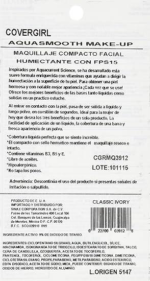 Amazon.com : CoverGirl Aqua Smooth Powder, Classic Ivory 710 0.4 oz (12 g) : Face Powders : Beauty